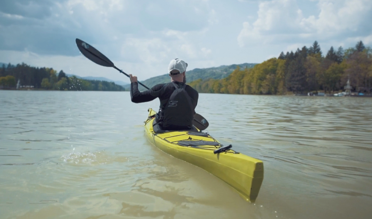 Kayaking on the river | Land Rover Explore